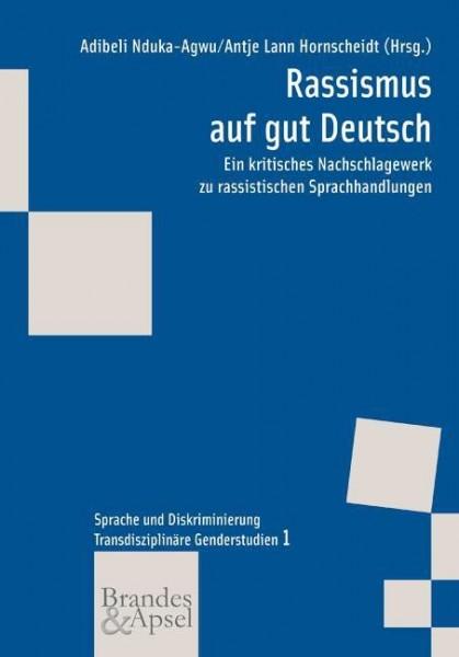 Nduka-Agwu u.a. (Hg.): Rassismus auf gut Deutsch