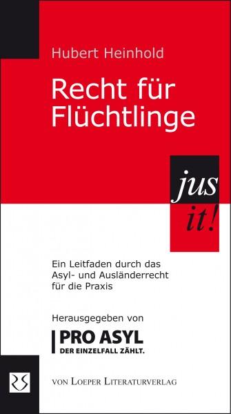 Hubert Heinhold: Recht für Flüchtlinge (Ankündigung)