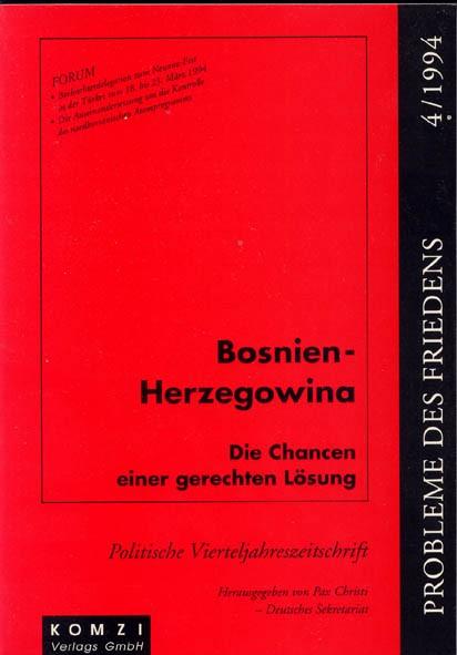 Pax Christi (Hg.): Bosnien-Herzegowina